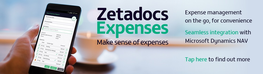 Click here to find out more about Zetadocs Expenses