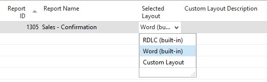 HOWTO: Manually modify Word Layout reports in NAV 2015 or NAV 2016